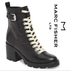 Sale🌹Final Price‼️Marc Fisher Leather Combat Boot